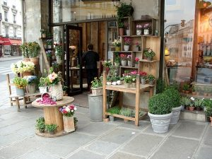 before opening flower shop